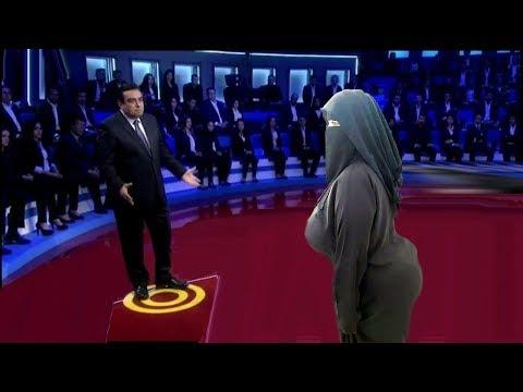 الجزء الثاني من زوج يتفاجئ عنده الدخول على زوجته من اقوى حلقات برنامج المسامح كريم