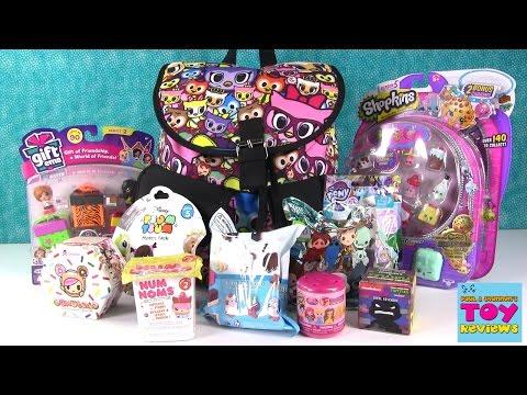 Tokidoki Surprise Backpack Disney Gift Ems Crossy Road Opening   PSToyReviews