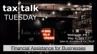 Tax Talk Tuesday: A Financial Relief Acronym for Every Business