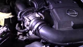 Nissan P0507 Idle Relearn Procedure - Thủ thuật máy tính