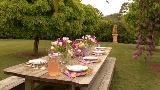 Outdoor Easter Table | At Home With P. Allen Smith