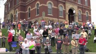 preview picture of video 'Stop HHS Mandate - Howell, Michigan Rally'