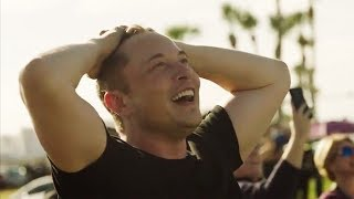 Elon Musk Extremely Emotional Reaction To Falcon Heavy Launch