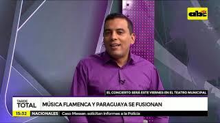 Música paraguaya y flamenca se fusionan