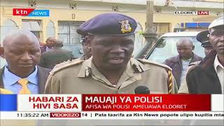 Mwili wa asifa wa polisi umepatikana Eldoret