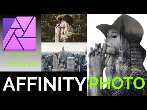Affinity Photo Clipping Mask Tutorial