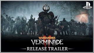 WARHAMMER : Vermintide 2 - NEW PlayStation LAUNCH Gameplay Trailer (2018) HD