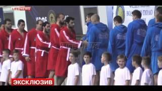 Фанаты вывесили флаги ВВС и морской пехоты на матче Россия — Турция