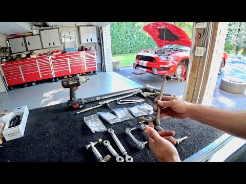 Shelby GT350 Suspension Clunk | Sway Bar Endlink Replacement