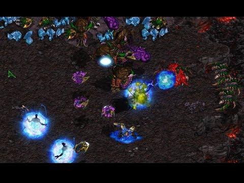 Zest (P) v Terror (Z) on Outsider - StarCraft  - Brood War REMASTERED