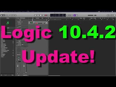 Logic Pro 10.4.2 UPDATE!