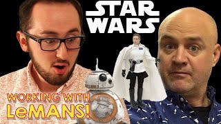 Star Wars Rogue One Toy Review | Working with LeMANS take over  | #rogueone #forceawakens
