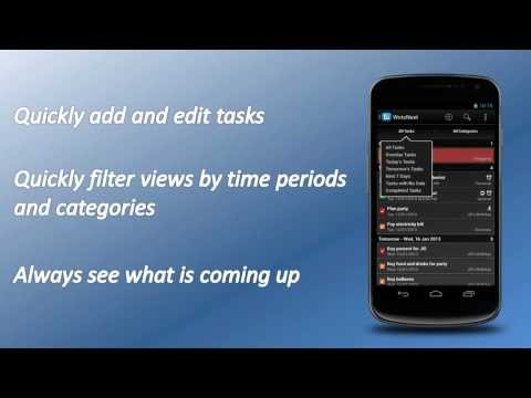 Video of WotsNext - To-do / Task List