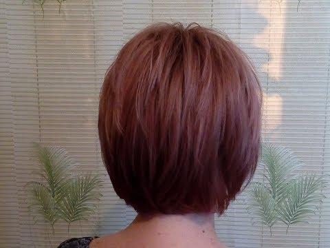 Стрижка с несведенными зонами(для тонких волос)