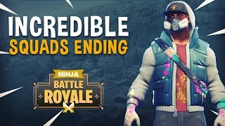 Incredible Squads Ending! (Guardian Con Reminder) - Fortnite Battle Royale Gameplay - Ninja
