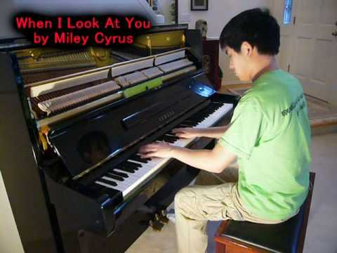 When I Look at You chords & lyrics - Miley Cyrus