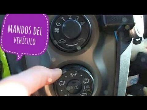 Mandos y controles del vehículo -  Autoescuela Miguel Valladolid