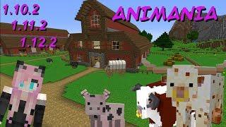 """Обзор мода """"Animania""""/ Множество реальных животных /MINECRAFT"""