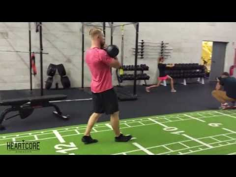 Double Kettlebell Front Rack Carry | HEARTCORE Athletics