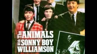 The Animals & Sonny Boy Williamson - Pontiac Blues