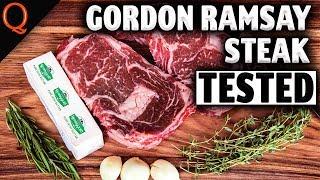 Gordon Ramsay Steak TESTED! On A Weber Kettle   Ft. Kosmos Q