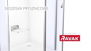 Siedziska prysznicowe OVO - RAVAK