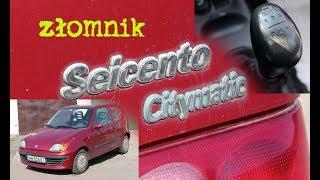 Złomnik: Fiat Seicento Citymatic czyli ni pies, ni wydra