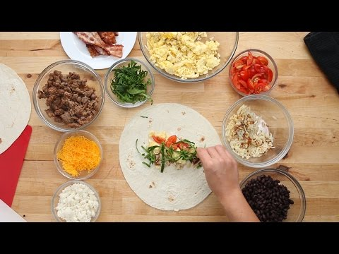 Make-Ahead Frozen Breakfast Burritos