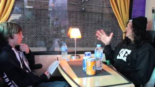 KREATOR - EQPTV talks to Mille Petrozza About Stage Presence (OFFICIAL)
