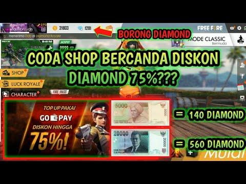 CODA SHOP DISKON DIAMOND 75% buruan sebelum eventnya berakhir.