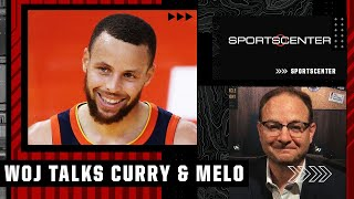 Woj reacts to Steph Curry's extension, Melo signing with Lakers   SportsCenter