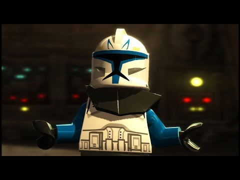 Captain Rex BETRAYED by his Comrade - Lego Star Wars III: The Clone Wars 9