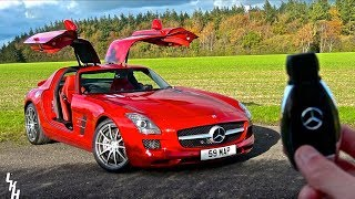 Driving My Friends Mercedes SLS AMG! - How Is This My Life?