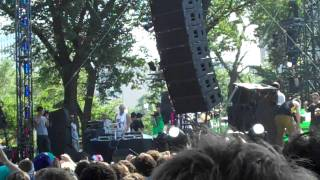 Chiddy Bang Freestyle at Lollapalooza 2010