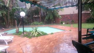 It's raining outside…