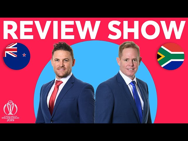 The Review - New Zealand vs South Africa | Williamson's 106 Secures Win |ICC Cricket World Cup 2019