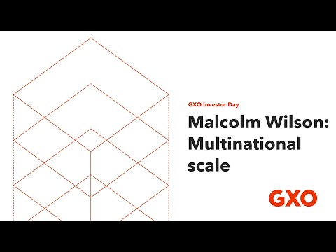 GXO Investor Day: Multinational scale