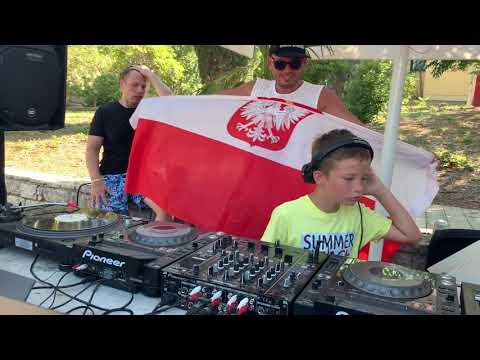 10-year-old Little Filip at Defected Croatia 2019