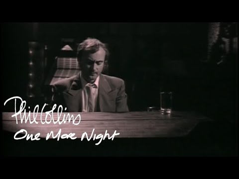Phil Collins - One More Night (Official Music Video)