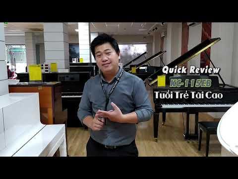 Review nhanh đàn piano Kohler & Campbell KC-115EB
