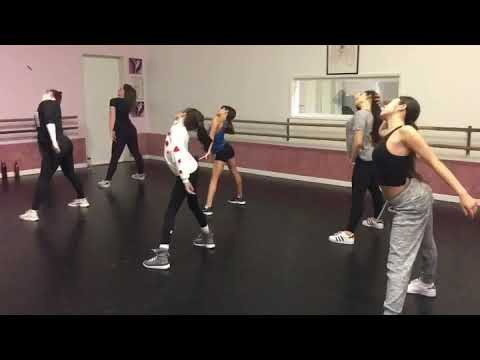 Hip hop/jazz funk dance I created on students of mine.