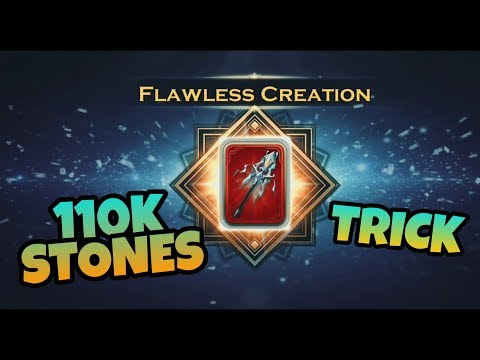 Getting 110k Stones | Flawless Divine Items | Art of Conquest