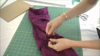 Quick Sew DIY Infinity Scarf