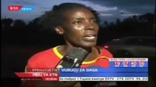 Watu kadhaa wajeruhiwa Kisii baada ya wafuasi wa muungano wa Jubilee na NASA kuzozana