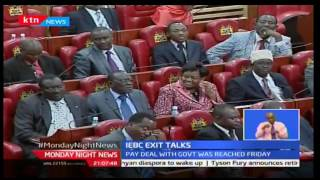 Monday Night News: Pay deal for IEBC commisioners to be known today, 3/10/2016