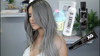 How To Maintain Gray Hair Color | Good For All Funky Colors