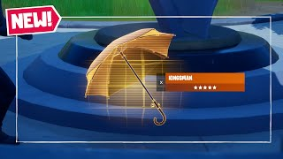 How to Get New Kingsman Umbrella In Fortnite Chapter 2 Season 2! How to Use Kingsman Umbrella!
