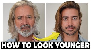 7 Easy Ways to Look Younger Longer  | Men's Skincare Tips