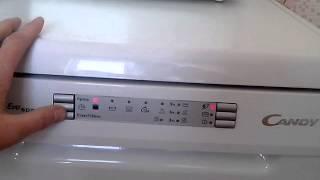 Обзор посудомоечной машины CANDY CDP 4609X-07