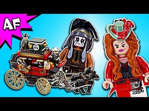 Vidéo LEGO The Lone Ranger 79108 : L'évasion en diligence